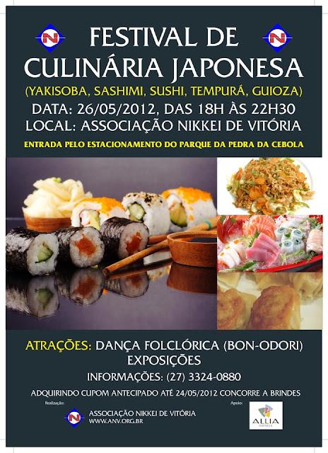 Festival de Culinária Japonesa em Vitória