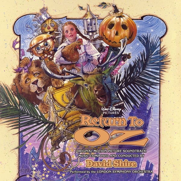 the royal blog of oz return to oz complete score cd review