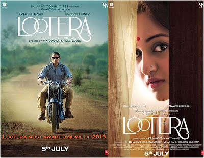 Lootera Poster - Sonakshi Sinha in the simple bengali girl look