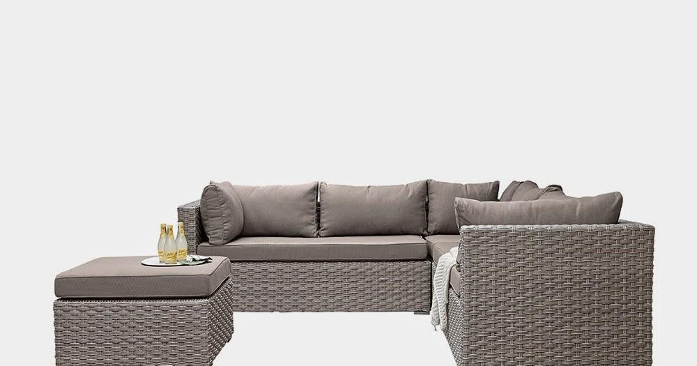 loungem bel f r die terrasse. Black Bedroom Furniture Sets. Home Design Ideas