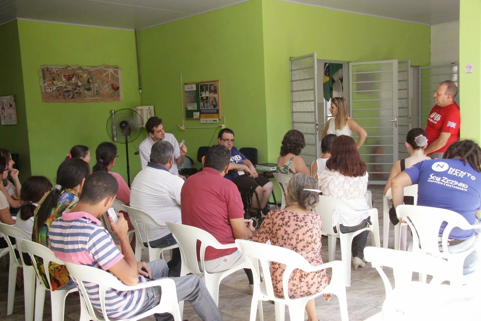Visita ao CRAS - 2013