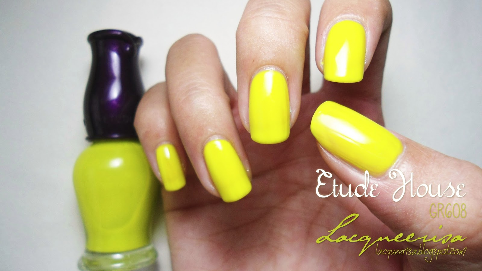 Lacqueerisa: Etude House GR608