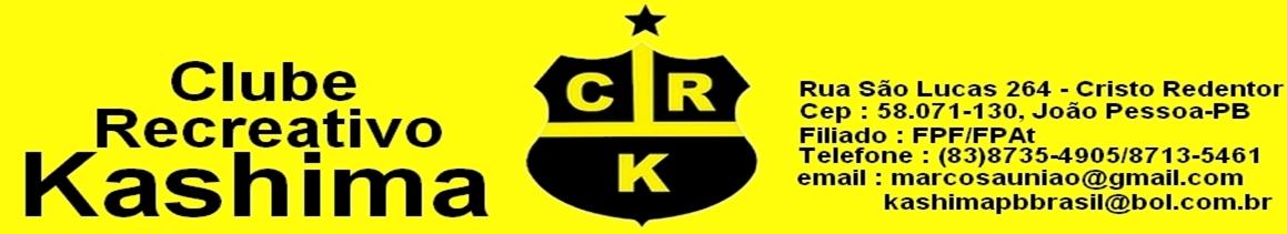 CLUBE RECREATIVO KASHIMA (PARAIBA)