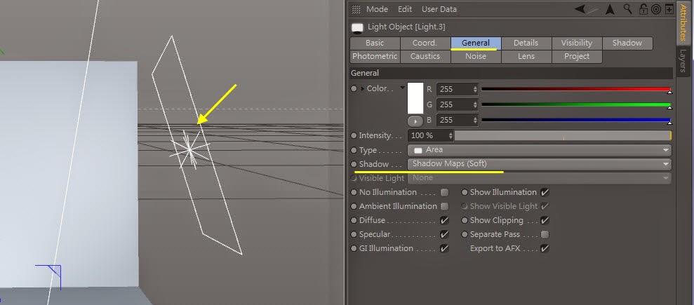 3d object on  2d image inC4D 05