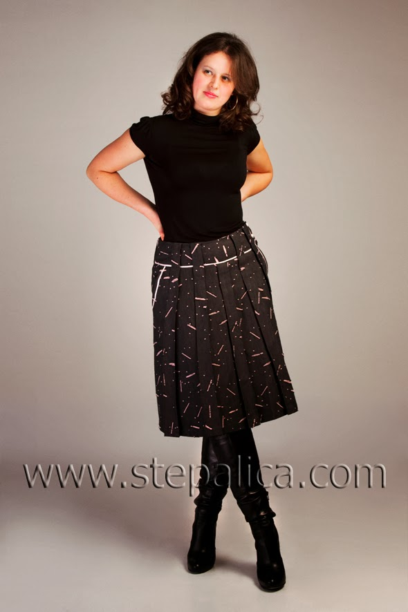 Stepalica: Zlata skirt Pattern #1401 - variation A