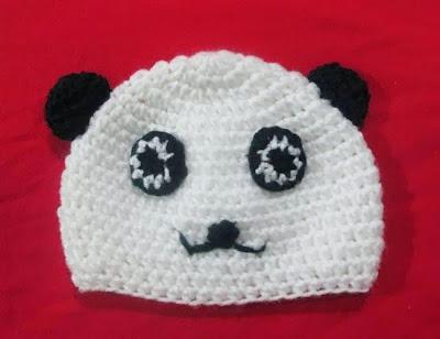 mũ len gấu cho bé trai