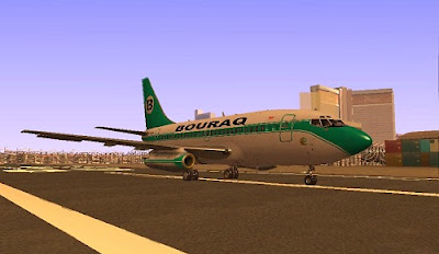 Mod Boeing 737-100 Buraq Indonesia