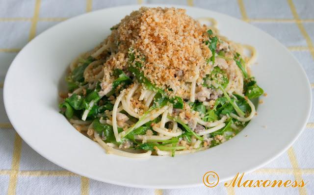 Спагетти с чили, сардинами и орегано от Гордона Рамзи