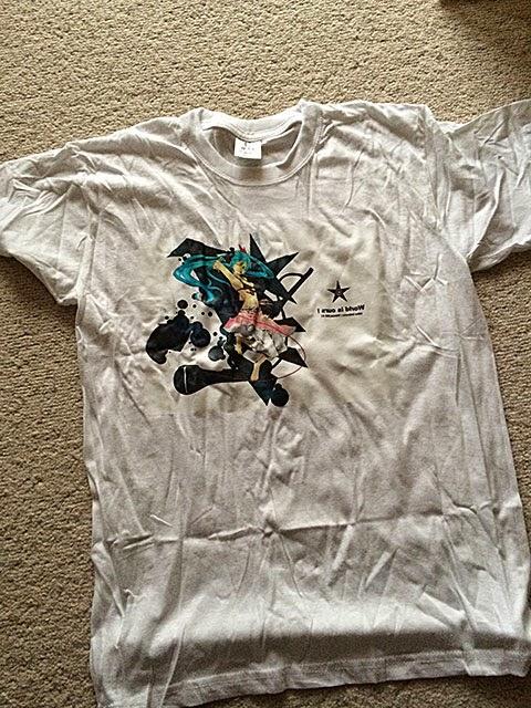 初音ミクのTシャツを作ってみた