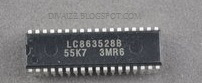 DATA IC LA76818A Dan LC863528C China