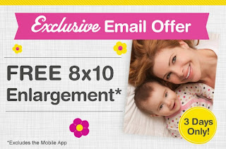 Free 8x10 at Walgreens, 5/9
