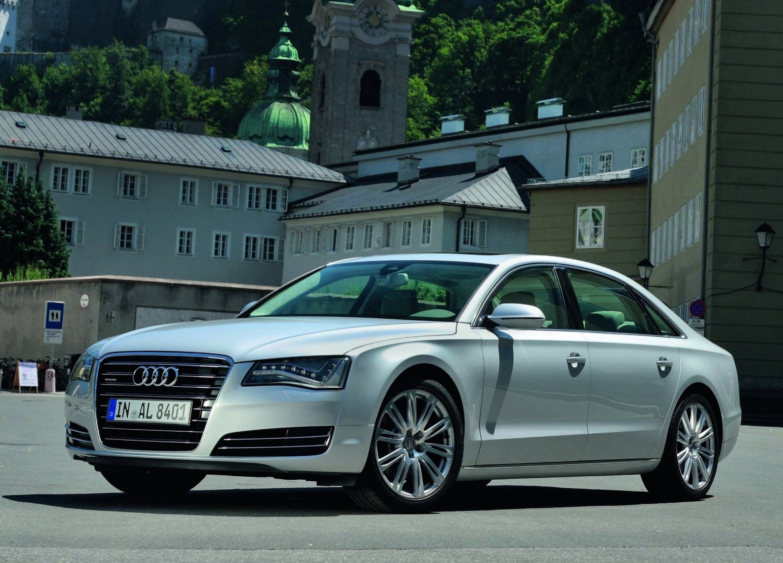 audi a8 l hd wallpapers the world of audi. Black Bedroom Furniture Sets. Home Design Ideas