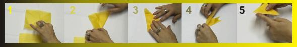 Cómo plegar el papel