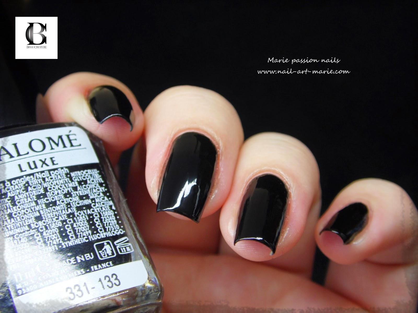 vernis Salomé noir7
