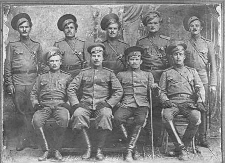 A group of Orenburg Cossacks in 1912. (CC Victor Pogadaev)