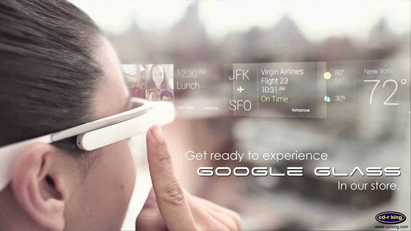 CD-R King will be selling Google Glass