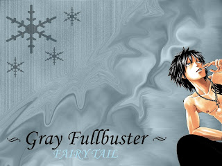gray fullbuster fairy tail anime wallpaper