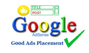 Place Adsense inside post