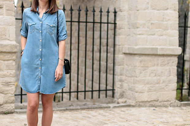 Mango denim dress