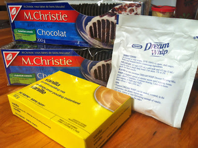 Ingredients - Ice Cream Cookies a.k.a Homemade Long Treats