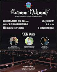 Event Sabuki : Kurma Nikmat, Kumpulan Ramadhan Unik dan Bermanfaat, 18 Juni 2017