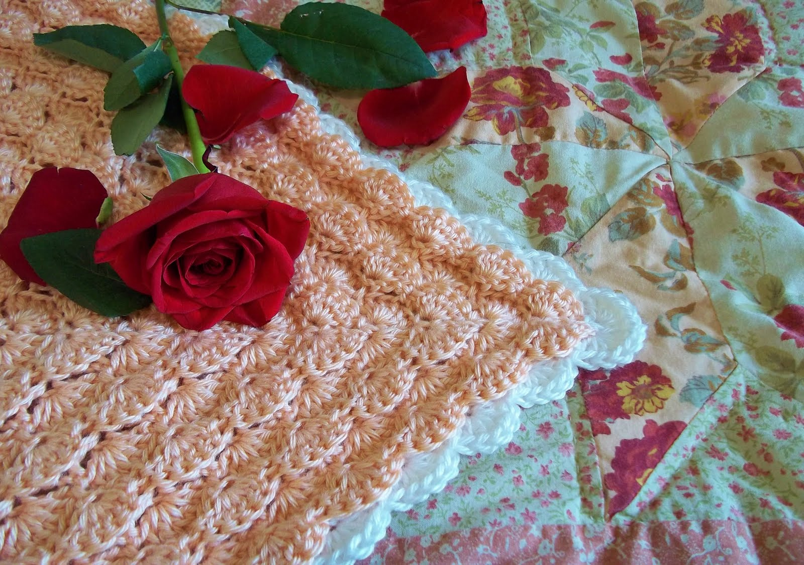 The Hook Hound: Rose Petals Square New Crochet Pattern