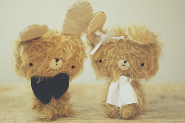 pocholines peluches hechos a mano con amor regalo personalizado bodas