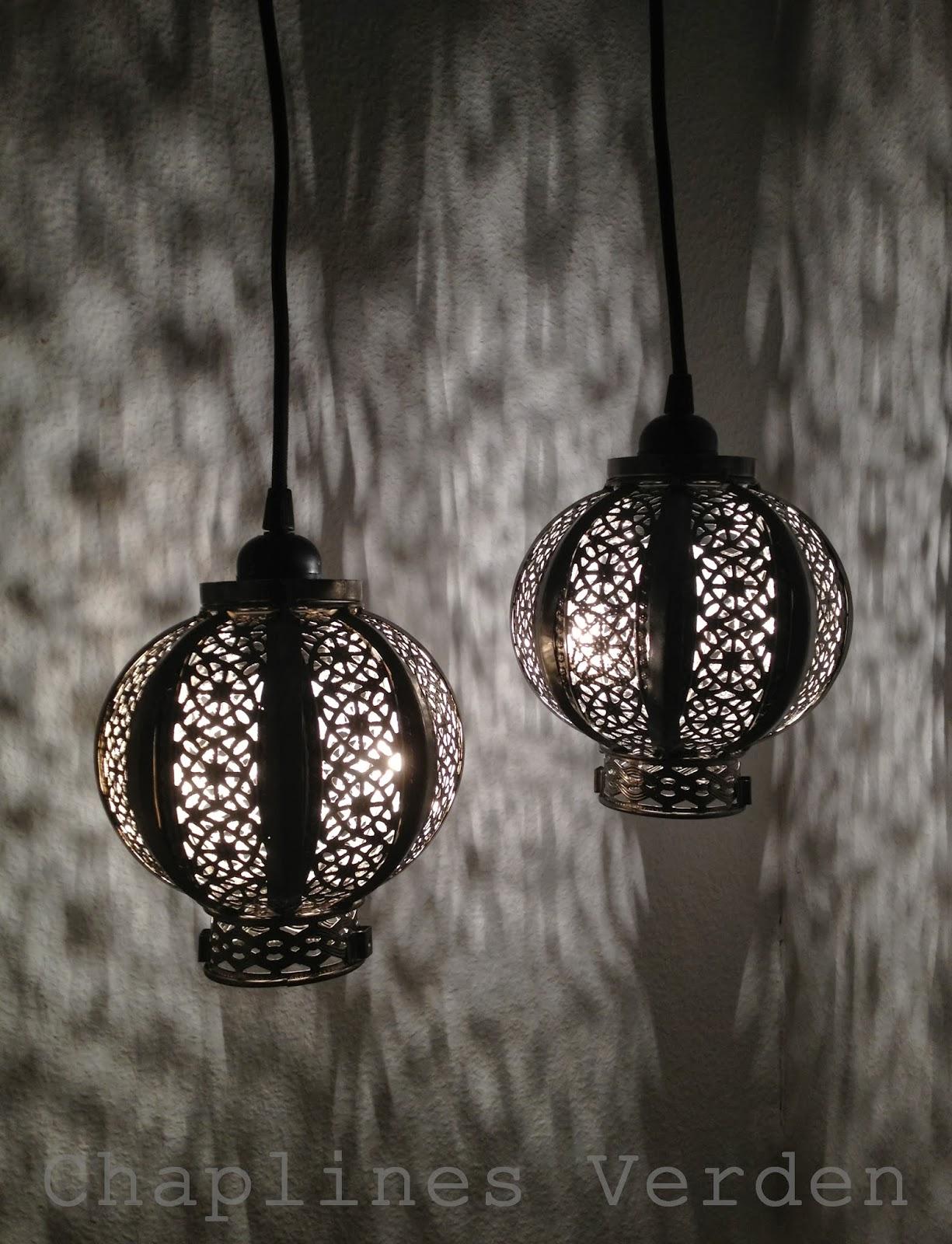 Chaplines Verden: DIY lampe ala Marokko