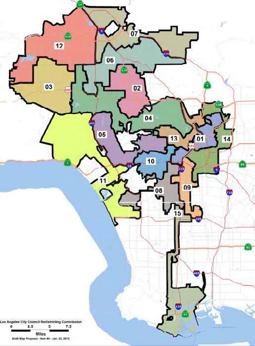 Los Angeles City Council District