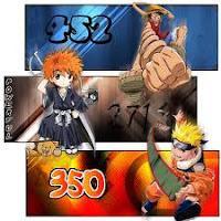 Anime Album Colletion Naruto, Bleach dan One Piece