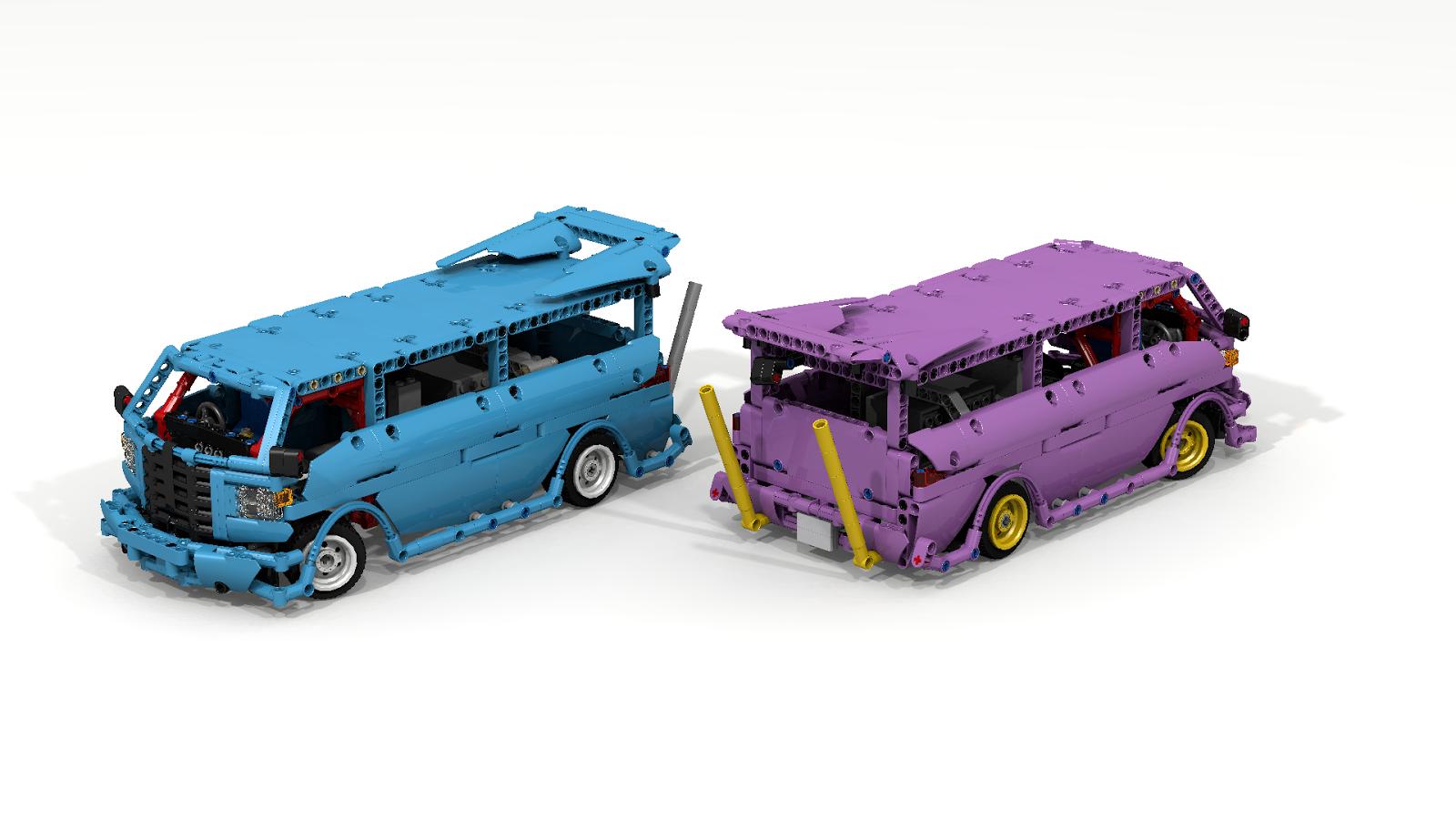 Filsawgood Lego Technic Creations Iyunya