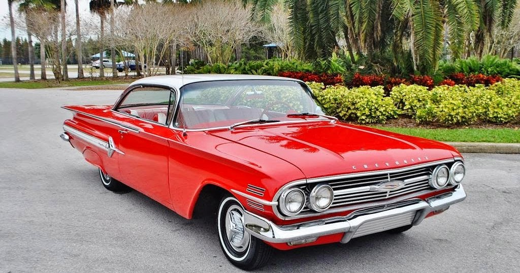 All American Classic Cars: 1960 Chevrolet Impala 2-Door Sport Coupe
