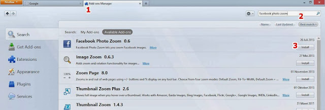 Cara Memperbesar Gambar di Facebook Menggunakan Kursor