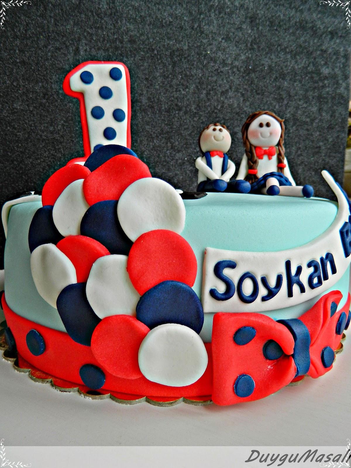 berkenin 1 yaş pastası