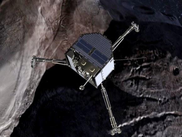 Eropa Siap Bikin Sejarah Pendaratan Pertama di sebuah Komet