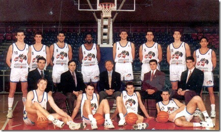 TAU BASKONIA 1991-1992. Liga ACB