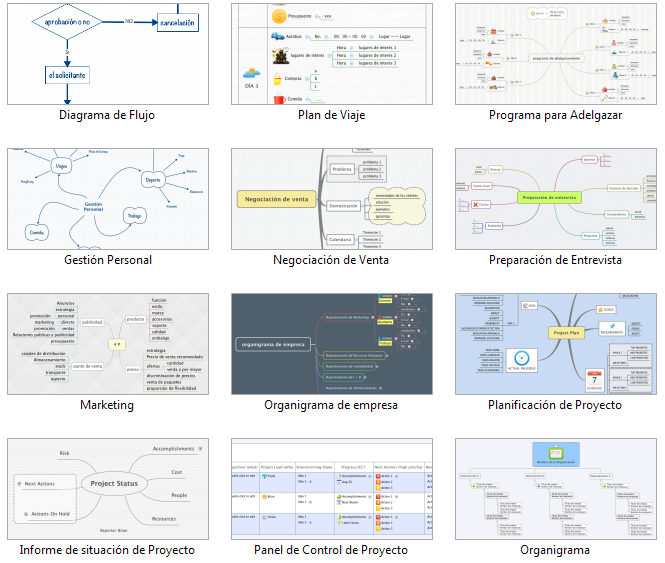 Xmind - Para crear diagramas o mapas conceptuales