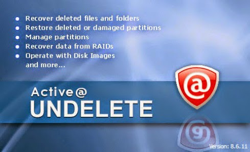 Active Undelete 10 Professional License Key incl Serial Key Full Version Free Download