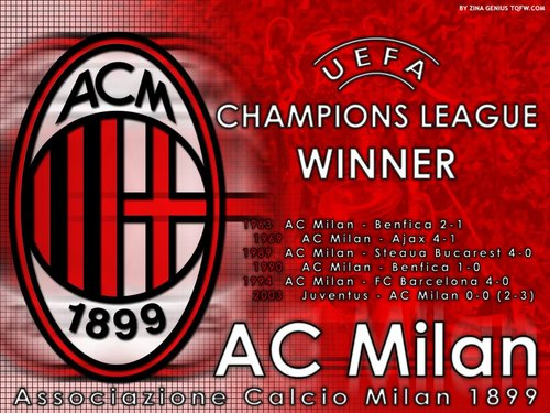 milan logo football
