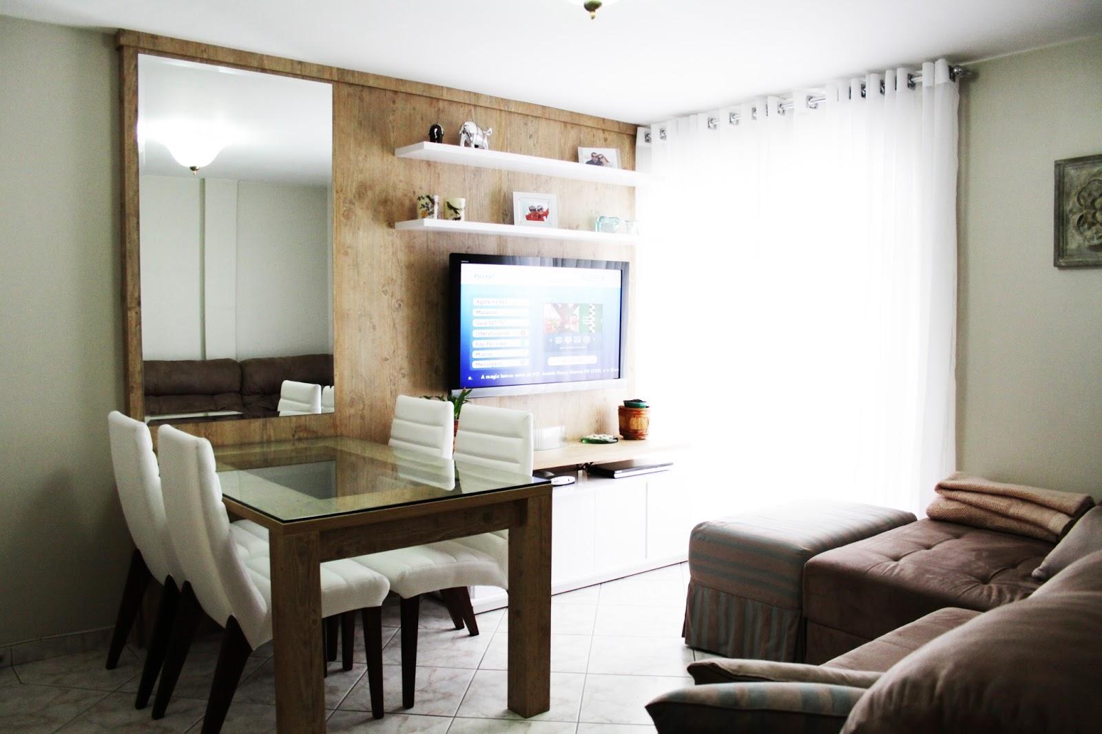 Sala De Tv Com Mesa De Jantar ~ Sala de estar pequena?  ideiasinteriores