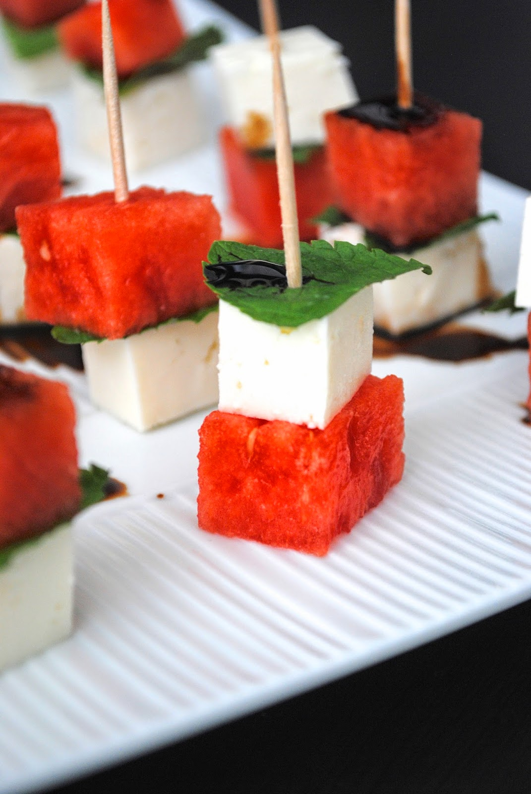 Kitchin-it: Watermelon Feta Mint Skewers!