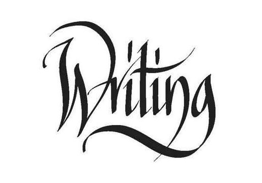 Calligraphy alphabet calligraphy style writing T in calligraphy