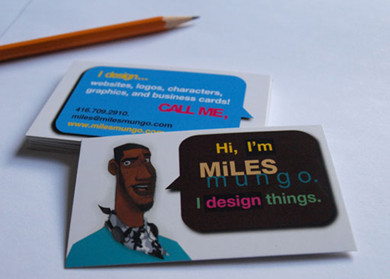 23) Business Card