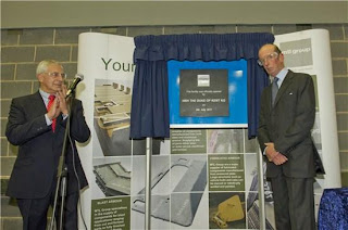 HRH The Duke of Kent Visits MTL's Rotherham Facility