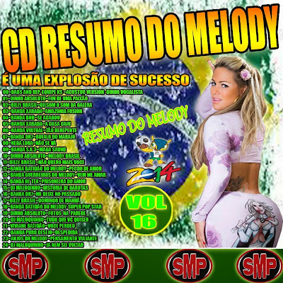 CD RESUMO DO MELODY VOL.16