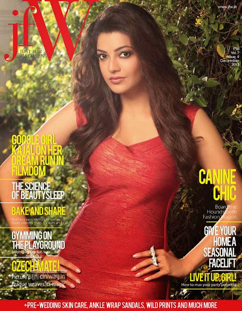 Kajal Agarwal JFW Magazine December 2013 Photoshoot