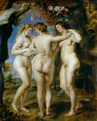 Pierre Paul Rubens - Les trois grâces,1639.