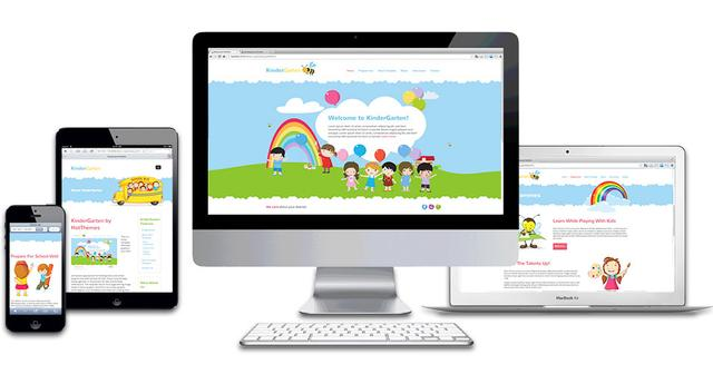 HotThemes - KinderGarten Template for Joomla 2.5 & 3.0