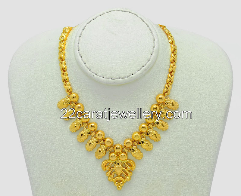 Yellow Gold Plain Set by Malabar Gold - Jewellery Designs