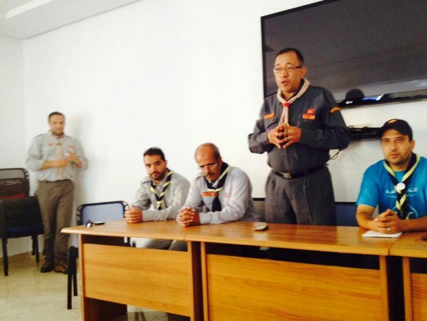 الكشفية الحسنية المغربية تتعزز بفرع جديد بالناظور